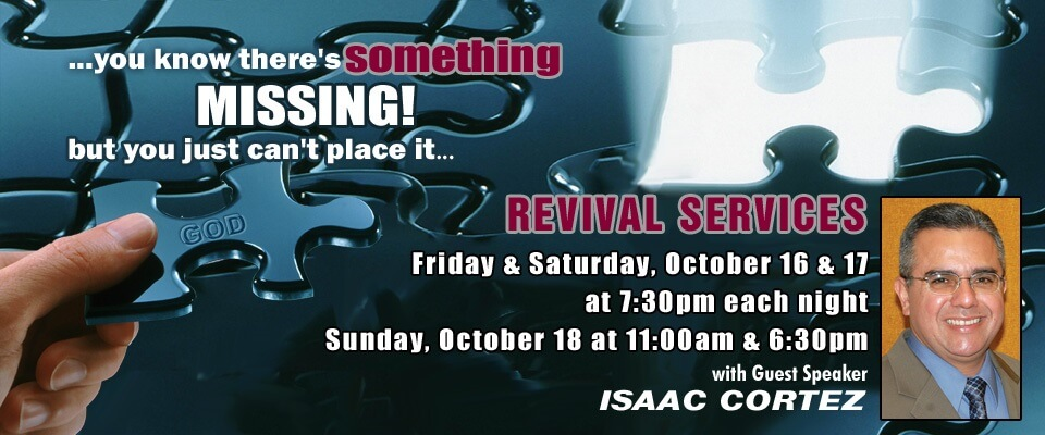 Revival With Isaac Cortez The Door Christian Fellowship